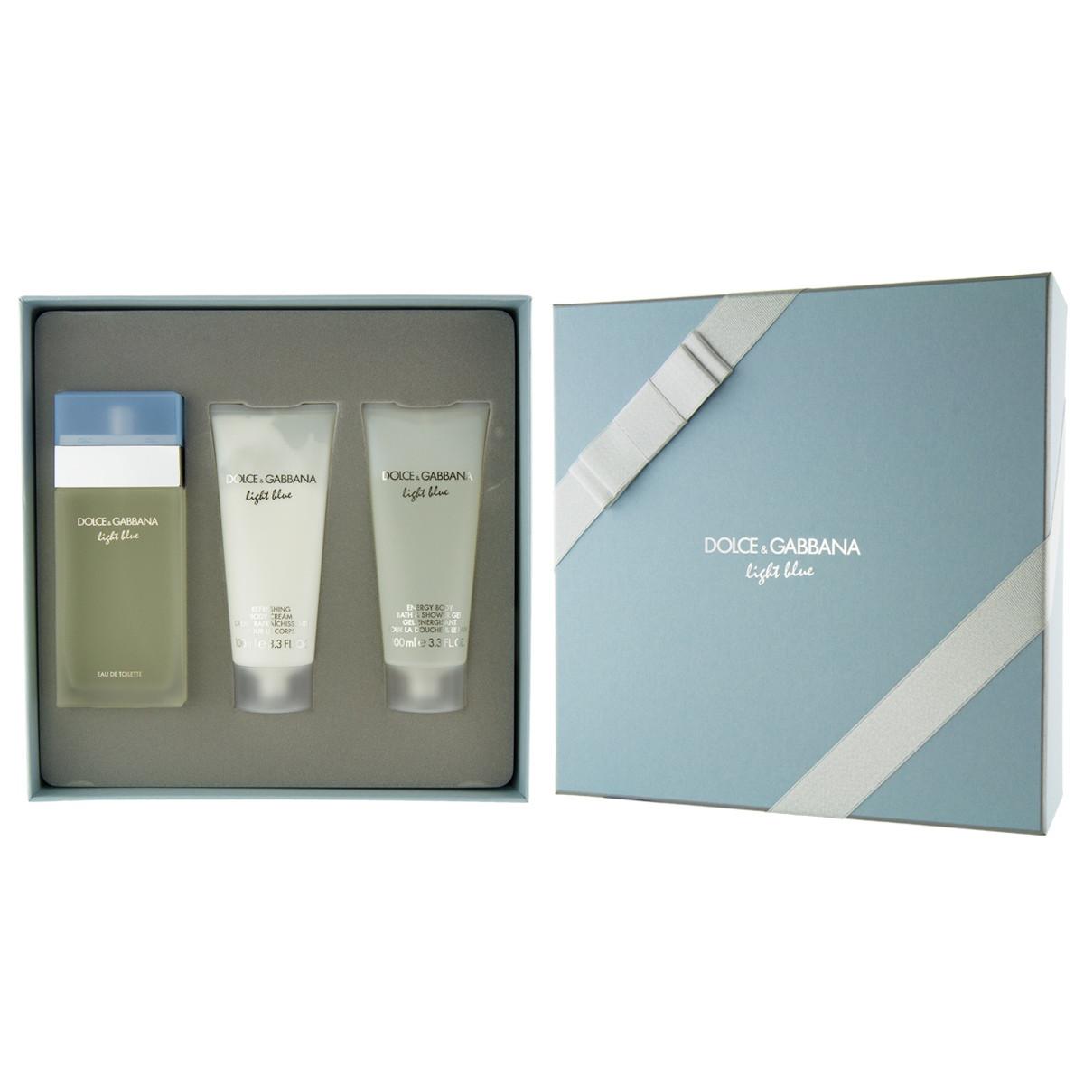 Dolce & Gabbana Light Blue EDT 100 ml + gel doccia 100 ml..