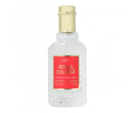 4711 Acqua Colonia Lychee & White Mint Eau de Cologne (unisex) 50 ml