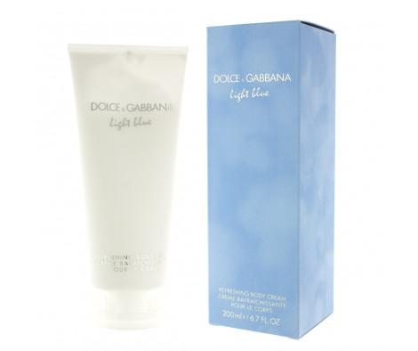 Dolce & Gabbana Light Blue Crema profumata per il corpo (donna) 200 ml