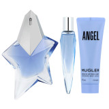 Mugler Angel EDP ricaricabile 50 ml + EDP MINI ricaricabile 10 ml + Latte corpo 50 ml
