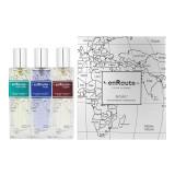 Afnan enRoute pour Homme EDP Paris 50 ml + EDP Dubai 50 ml + EDP New York 50 ml